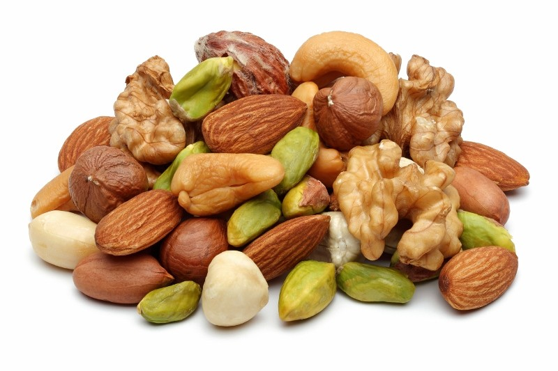 Nuts - source of protein